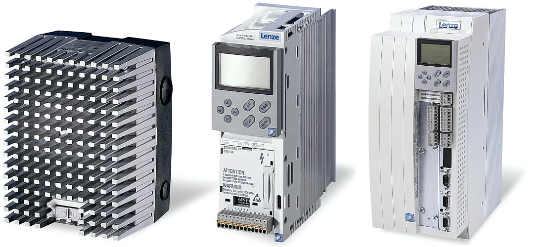 Lenze 8200 motec and 8200 vector frequency inverters